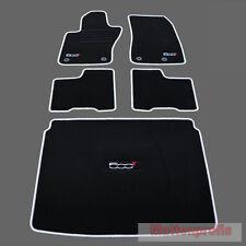 Mattenprofis Velours Fußmatten + Kofferraummatte SET für Fiat 500X ab Bj.2014 si