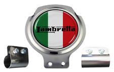 Lambretta Italy Flag Scooter Bar Badge - FREE BRACKET & FIXINGS