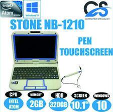 "Windows 10 Stone NB-1210 10.1 "" Écran Tactile Ordinateur Portable Intel Atom 2gb"