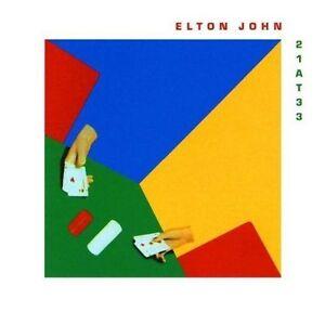 Elton John 21 At 33 Remastered CD NEW