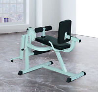 Leg Curl Extension Strength Training Exercise Workout Bench Home Gym Fitness