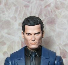 HEAD ONLY Marvel Legends Custom painted Head DC Bruce Wayne Mezco One 12