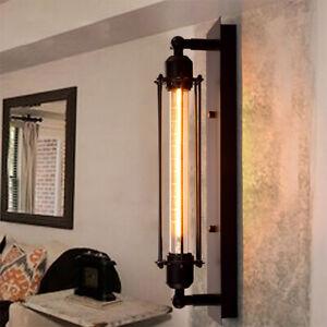 Modern Corridor Vintage Retro Industrial Black Ceiling Wall Light Lamp E27