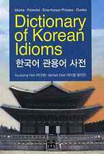 DICTIONARY of KOREAN IDIOMS Michael Elliott Hangul TEXT Learn for Foreigner