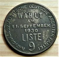 GERMAN COLLECTORS COIN AHITLER R.MARK 1930