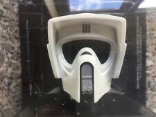 Star Wars Helmet Collection SCOUT TROOPER new Mint Sealed FREE UK POST