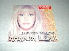 AMANDA LEAR CD SINGLE I JUST WANNA DANCE AGAIN ***AVEC STICKER***