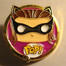 Funko Pop! Batgirl Lapel Pin - DC Comics Animated Masked Super Hero Pop Hat pin