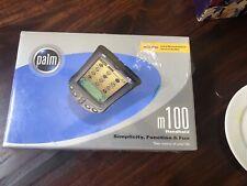 New - Factory Sealed - Palm One m100 Handheld PalmOne Pda Palm Pilot Organizer