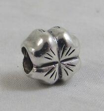 Genuine Early Pandora Silver Four Leaf Clover 790157 925 ALE