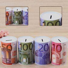 Coin Money Tin Box Piggy Bank Novelty Savings Gift Coin Jar Counting NineGu