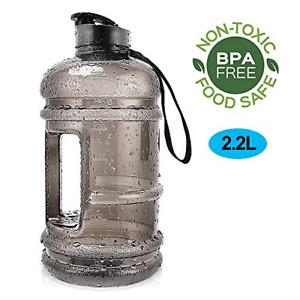 Water Jug 2.2L Large Sport Water Bottle Big Capacity Leakproof Container BPA for