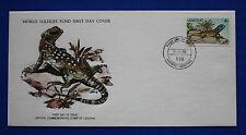Lesotho (270) 1979 Reptiles - Agama Atra WWF FDC