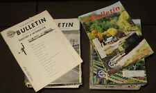 NMRA Bulletin ( Lot of 99 ) 1980-1999 National Model Railroader Association
