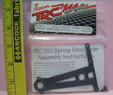 TRC R/C RADIO CONTROL 6267 1/10 SPRING STEEL T-BAR SINGLE SLOT MED STIFF PART