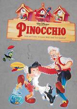 PINOCCHIO WALT DISNEY mobile di cartone Personaggio Scudo Decorazione Gepetto giminy VINTAGE 90er