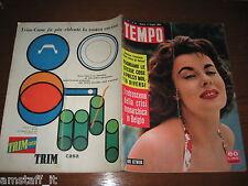 RIVISTA TEMPO 1959/23=ANNE HEYWOOD=PUBBLICITA' TRIM CASA=