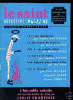 Le SAINT DETECTIVE MAGAZINE N°107 / FISHER.INNES.ROSS