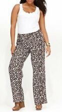 Inc International Concepts mujer pantalones talla 18w Marrón Diamante Blanco