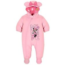 Disney Baby Girls Minnie Mouse Winter Snowsuit  - Christmas Gift