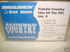 Female Country Hits Of The 90's Vol. 3 Karaoke Cassette Dale Daniel Ronna Reeves