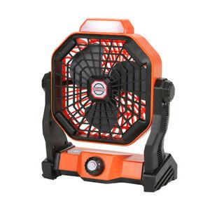 Camping Fan LED Lantern 5200mAh Battery Operated Fan fit Travel Camping Fishing