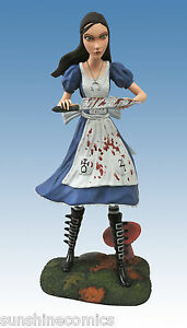 Alice Madness Returns Statue Figure Femme Fatales Diamond Select NEW SEALED