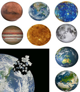 1000 Pieces Puzzles Universe Planet Jigsaw Interesting toy Brain Teaser Hard