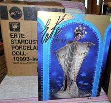 1994 Barbie 1st Erte Design Stardust Porcelain Doll w/Box Shipper Box LTD ED   2