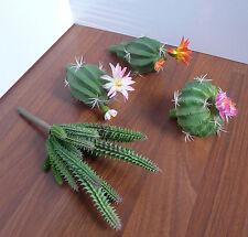 Artificial Succulents Plants Set of 4 Different Grass