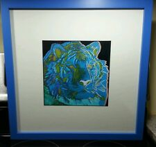 Andy Warhol Tiger II Lithography, Prof. Framed, Museum Glassed, Acid Free Backed