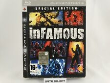 INFAMOUS 1 SPECIAL EDITION LIMITED PS3 PLAYSTATION 3 PAL ITA ITALIANO ORIGINALE