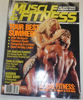 Muscle & Fitness Magazine Mohammed Benaziza Shawn Ray July 1991 120914R2