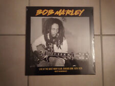 BOB MARLEY Live at the quiet night club Chicago 75 LP
