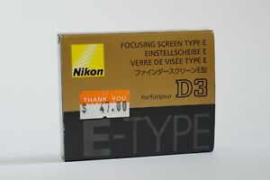 Focusing Screen for NIKON D3/D3s/D3x Type E (MINT)