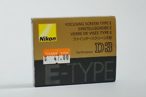Focusing Screen for NIKON D3/D3s/D3x Type E (MINT)