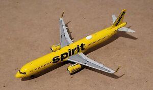 Gemini Jets 1:400 Spirit Airlines A321 N672NK Rare