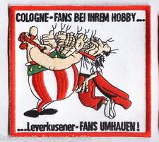 "Köln Aufnäher ""HOBBY""  Kutte Köllr Fan Kurve Block + neu + 11 x 8 cm"