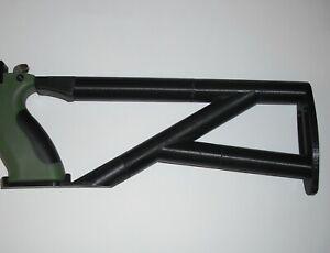 PP700 S-A(Black grip) & W (Green Grip) shoulder stock