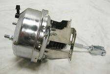 "1955 1956 1957 Chevy Car 7"" Power Brake Booster + Mounting Bracket Kit CHROME"