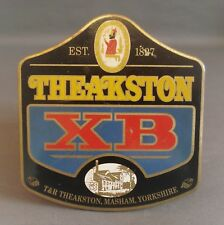Theakston XB Vintage Metal Pump Clip Complete with Original Fittings see photos