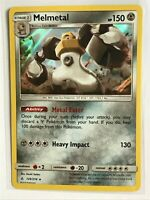 Melmetal HOLO RARE 129/214 Pokemon SM Unbroken Bonds NM Card TCG Foil
