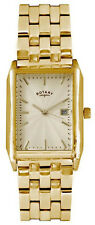 Rotary GB02819/03 Champagne Dial Gold Tone Stainless Steel Men's Watch