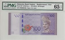 ZB 0000169 LOW NUMBER REPLACEMENT RM100 Zeti PMG 65 EPQ Malaysia