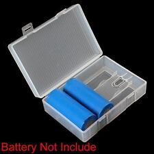 Portable New Plastic Storage Box Case for 4 x 26650 Batteries