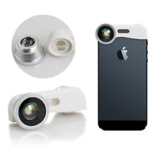 New 3-in-1 180°Fish Eye Fisheye + Wide Angle + Macro Lens Kit for iPhone 5 5s