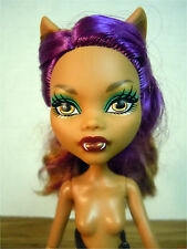 Monster High Clawdeen Wolf FRIGHTS, CAMERA, ACTION Nude Doll Loose Play