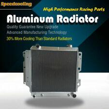 8101 3ROW Aluminum Radiator For 87-06 Jeep Wrangler Chevy Mopar V8 Conversion