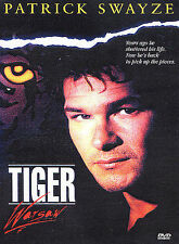 TIGER WARSAW rare dvd Troubled Vietnam War Vet PATRICK SWAYZE Piper laurie 1980s