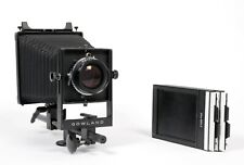 Gowland Ultralight 4X5 Camera with Fuji W 180mm F5.6 Lens + Fresnel + Holders